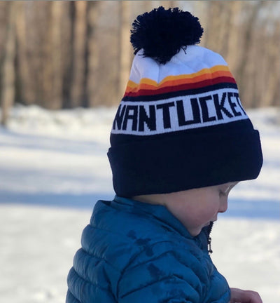 George: CHILDREN'S Nantucket Winter Hat