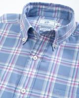 Southern Tide M Long Sleeve Big View Plaid Sport shirt & 4101