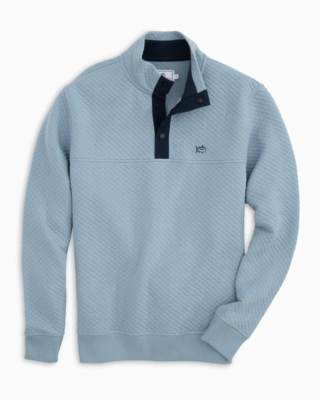 Southern Tide M Prospect Quilted Pullover & 4175