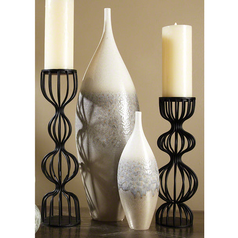 Cream Rises Vase - Tall - Small