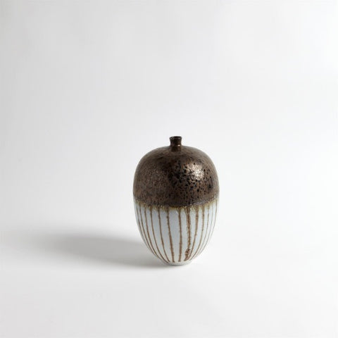 Bronze Stripe Vessel - Medium