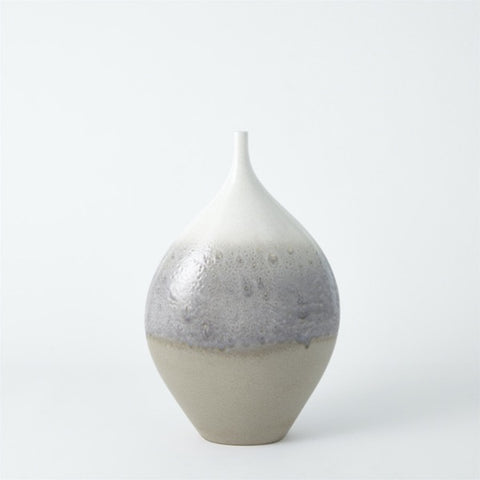 Cream Rises Vase - Wide - Large