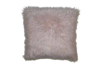 Llama Fur Blush Pillow