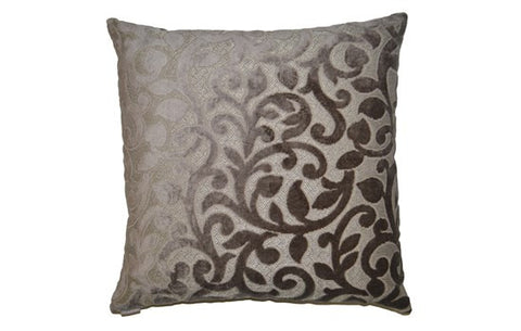 Rory Square Taupe Pillow