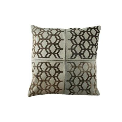 Bronze Mosaic Pillow