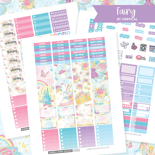 VERTICAL Printable / Instant Download / Fairy