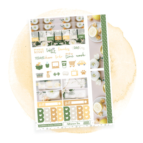Afternoon Tea / HOBONICHI WEEKS // Sticker Kit