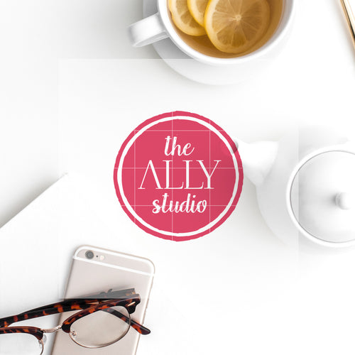 Pre-made Logo // The Ally Studio