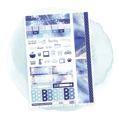 Arctic / HOBONICHI WEEKS // Sticker Kit