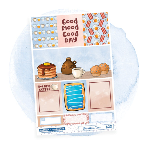 Breakfast Time // a la carte / Sticker Kit / Full Boxes