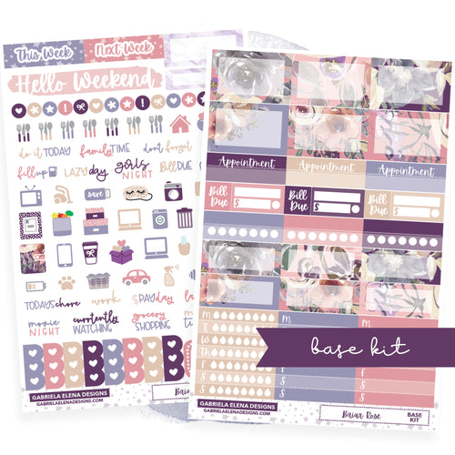 Briar Rose // BASE KIT / Icons / Functional / Sticker Kit