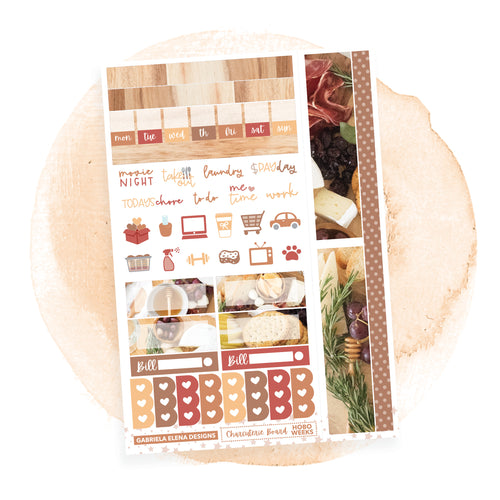 Charcuterie Board / HOBONICHI WEEKS // Sticker Kit