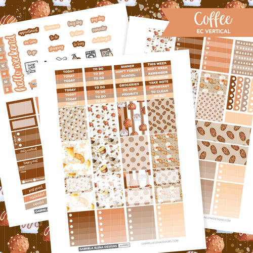 VERTICAL Printable / Instant Download / Coffee
