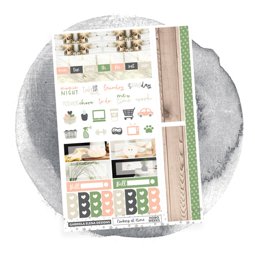 Cooking at Home / Photo Series / HOBONICHI WEEKS // Sticker Kit