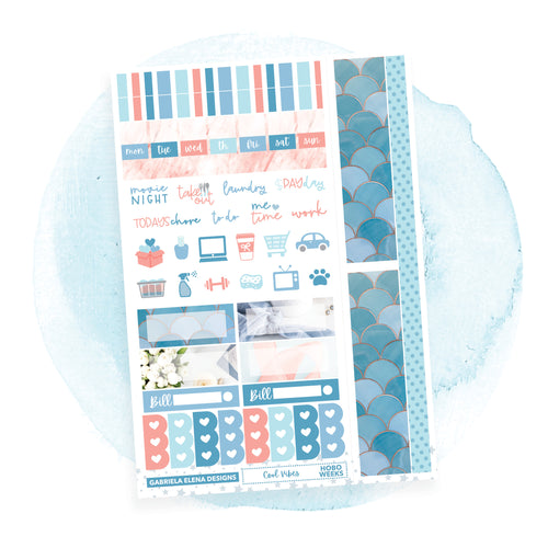 Cool Vibes / Photo Series / HOBONICHI WEEKS // Sticker Kit