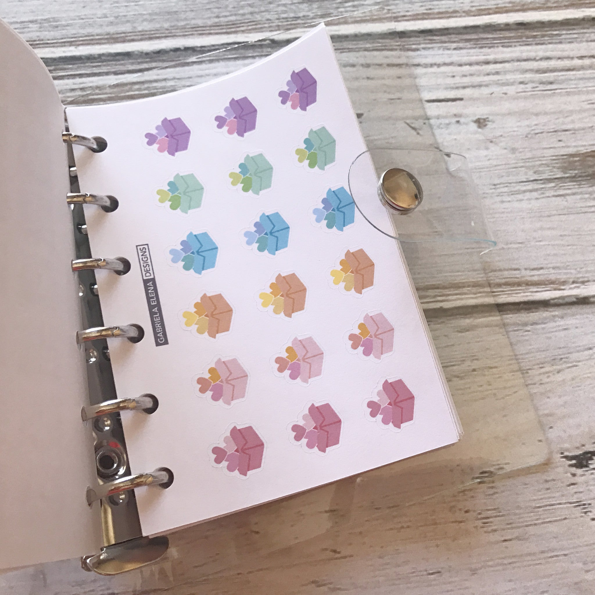 Decorative Favorites // Sticker Book Inserts