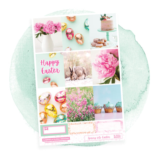 Spring into Easter / Photo Series // a la carte / Sticker Kit / Full Boxes