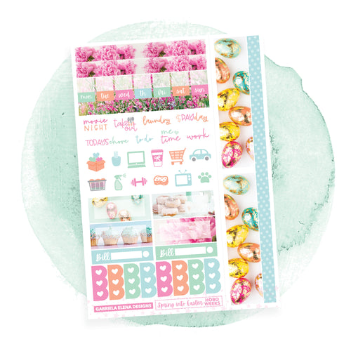 Spring into Easter / HOBONICHI WEEKS / Photo Series // Sticker Kit