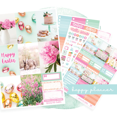 Spring into Easter / Photo Series // CLASSIC HAPPY PLANNER / Sticker Kit