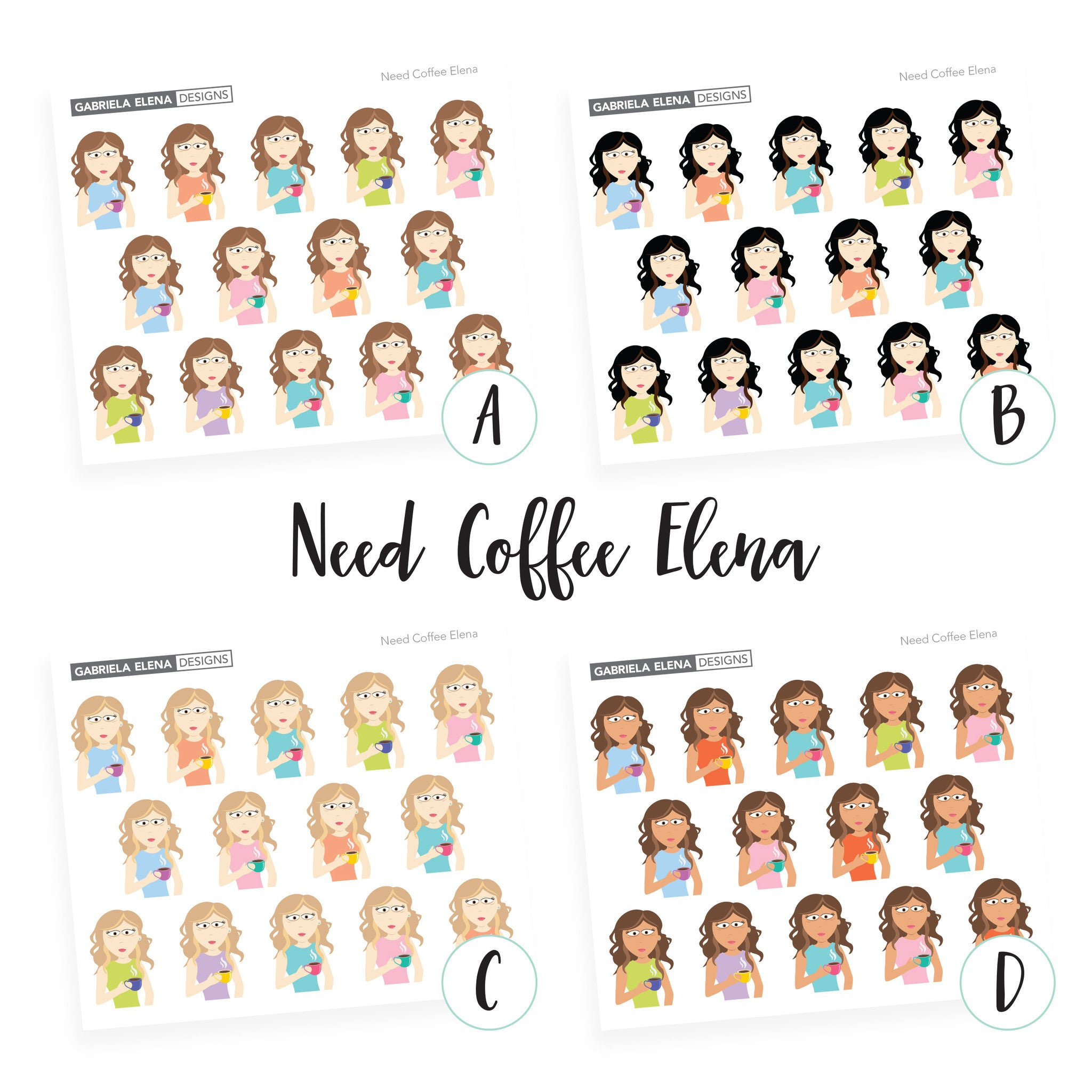 Elena / Need Coffee