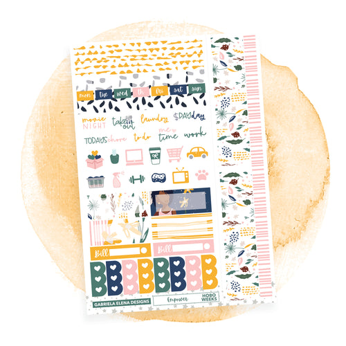 Empower / HOBONICHI WEEKS // Sticker Kit
