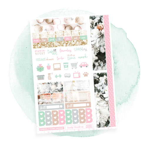 Frosty Christmas / HOBONICHI WEEKS // Sticker Kit