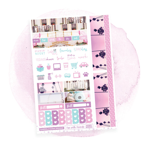Fun with Friends / Photo Series / HOBONICHI WEEKS // Sticker Kit