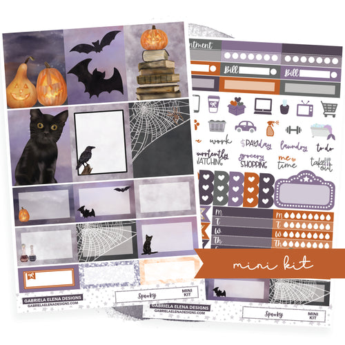Spooky // MINI KIT / Sticker Kit / FOIL