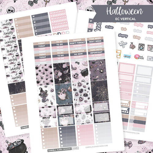 VERTICAL Printable / Instant Download / Halloween