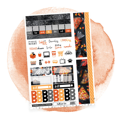 Hallows Eve / HOBONICHI WEEKS // Sticker Kit