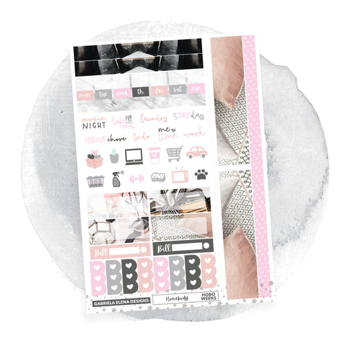 Homebody / Photo Series / HOBONICHI WEEKS // Sticker Kit