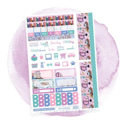 Home Library / HOBONICHI WEEKS // Sticker Kit