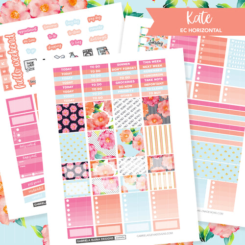 HORIZONTAL Printable / Instant Download / Kate
