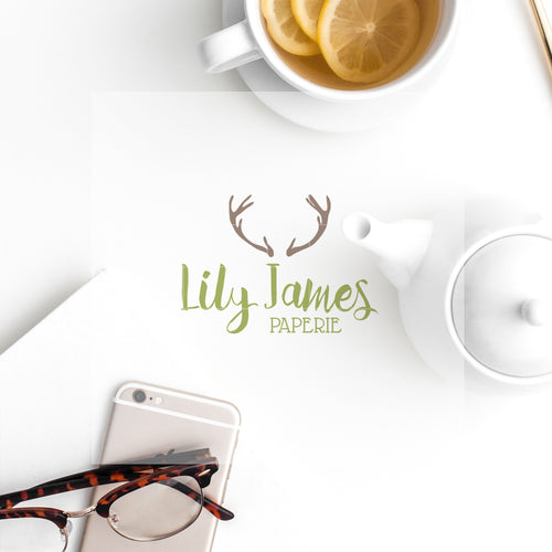 Pre-made Logo // Lily James