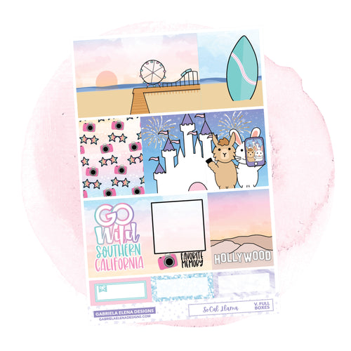 SoCal Llama // a la carte / Sticker Kit / Full Boxes / FOIL