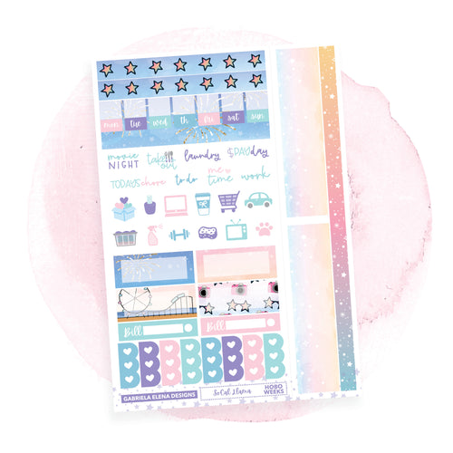 SoCal Llama / HOBONICHI WEEKS // Sticker Kit