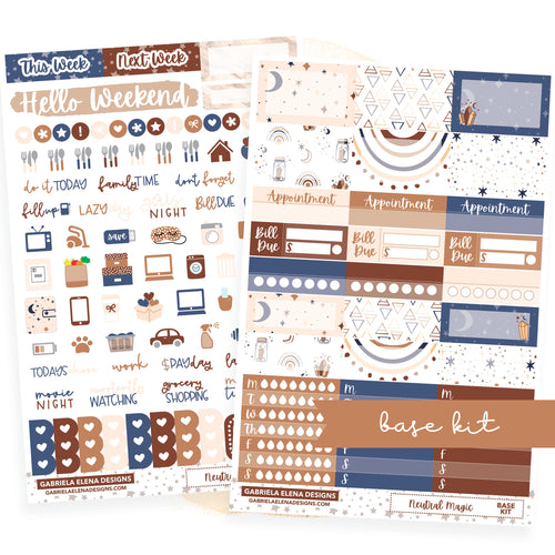 Neutral Magic // BASE KIT / Icons / Functional / Sticker Kit