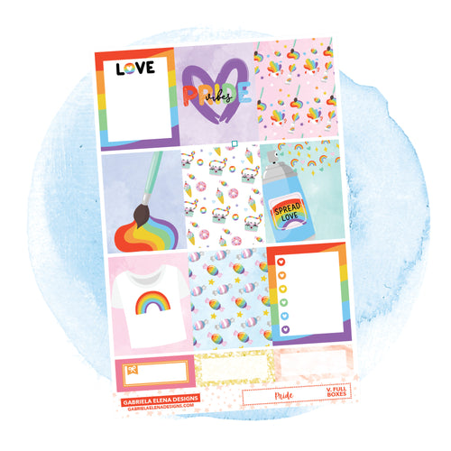 Pride // a la carte / Sticker Kit / Full Boxes / FOIL