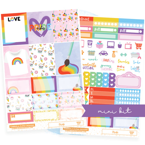 Pride // MINI KIT / Sticker Kit / FOIL