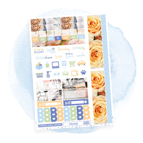 Saturday / Photo Series / HOBONICHI WEEKS // Sticker Kit