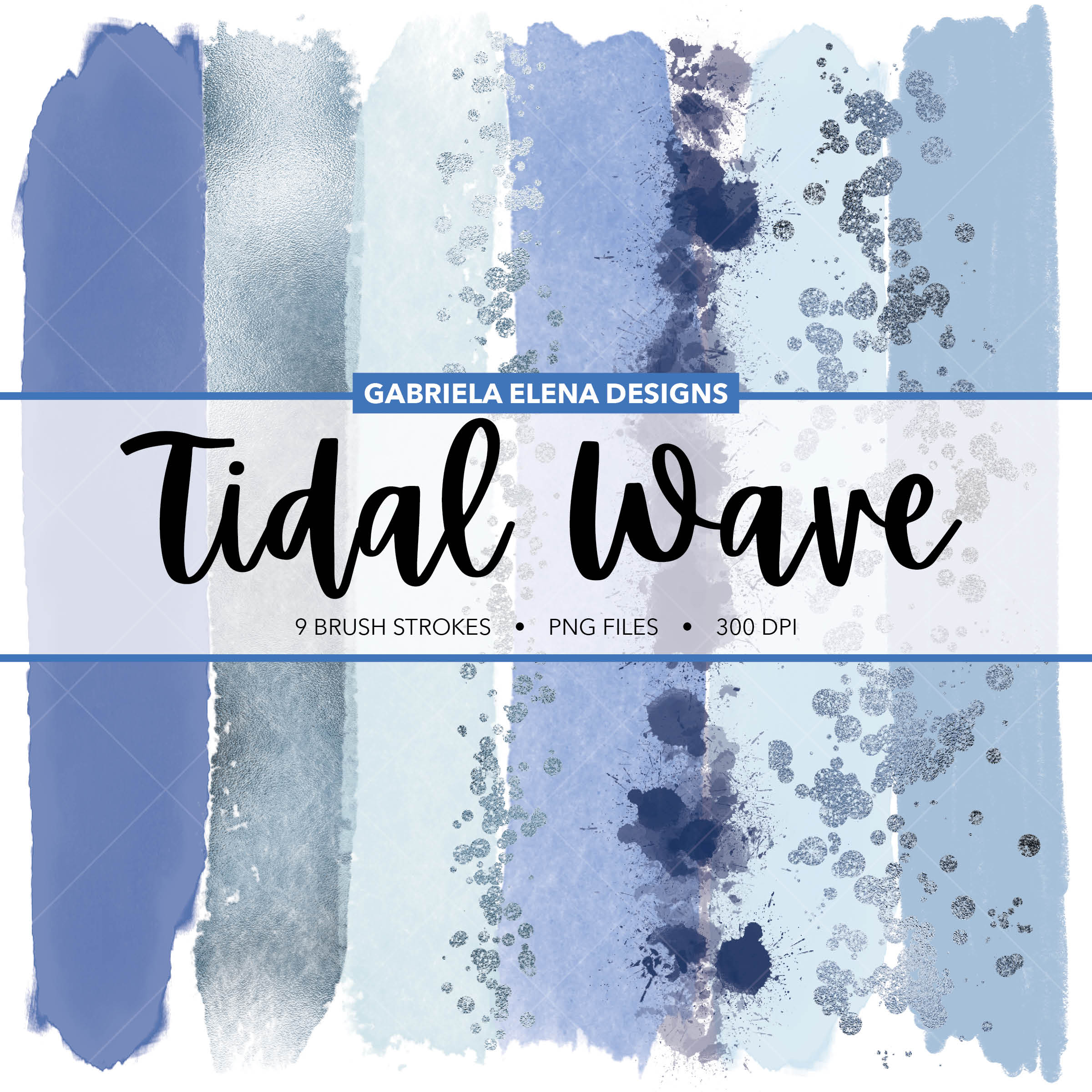 Designer Brushes - Tidal Wave