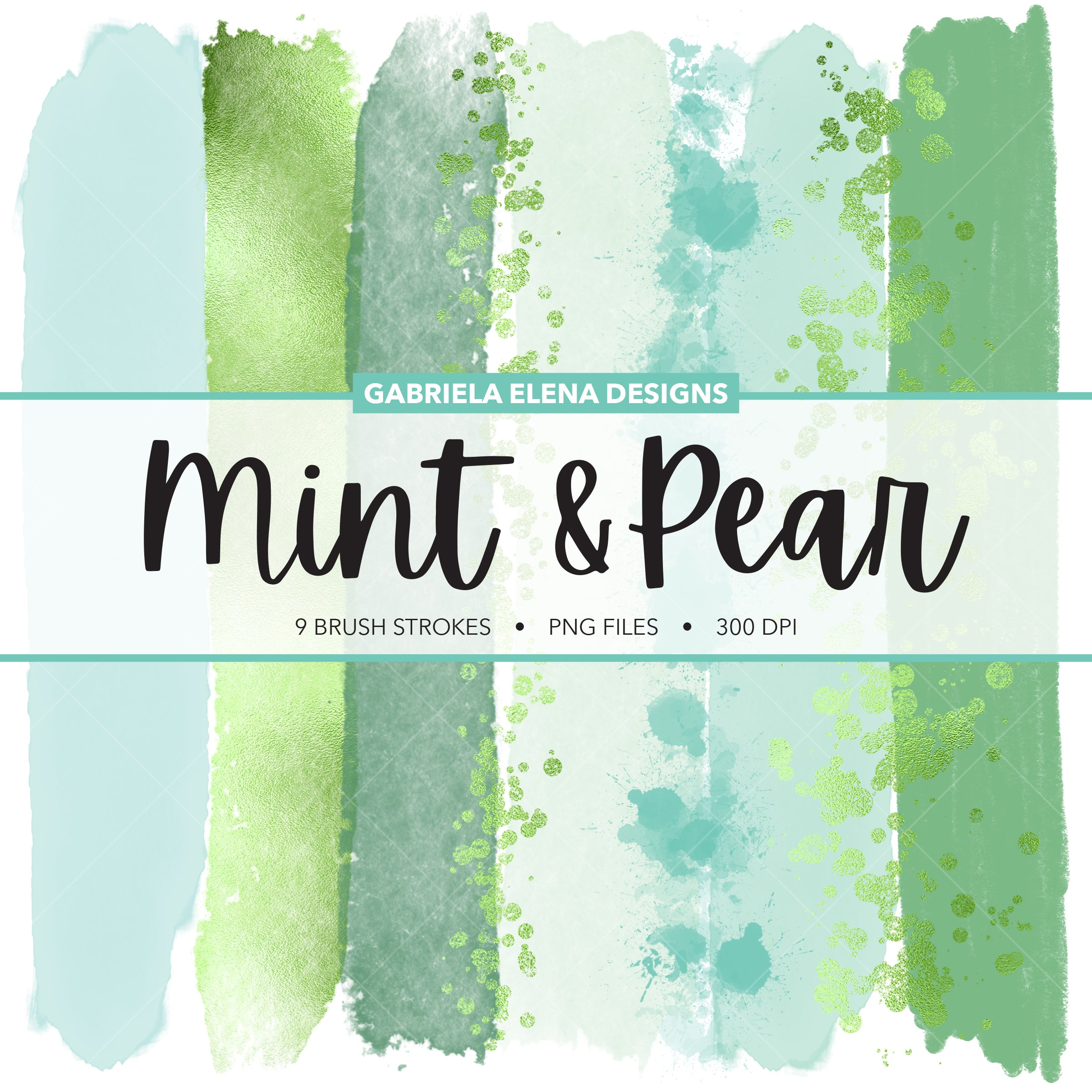 Designer Brushes - Mint and Pear