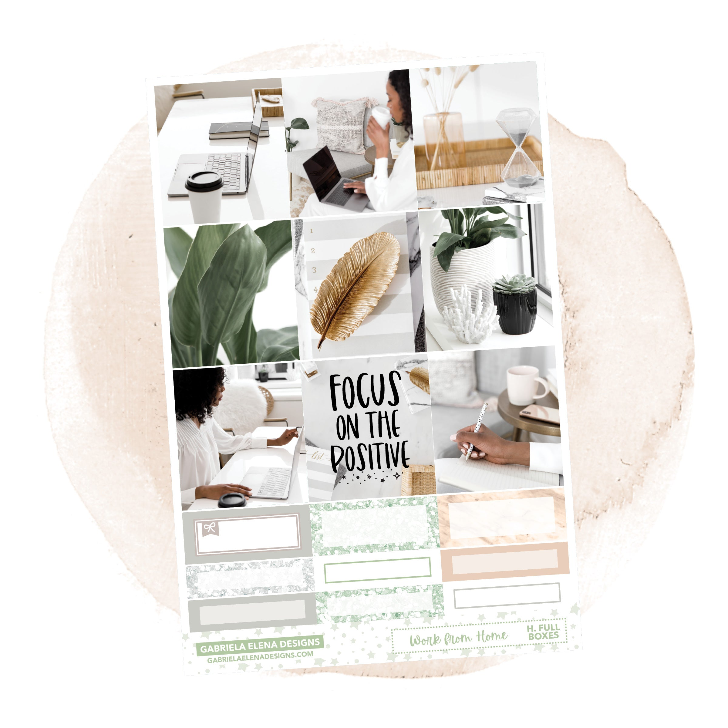 Work from Home // a la carte / Sticker Kit / Full Boxes / FOIL
