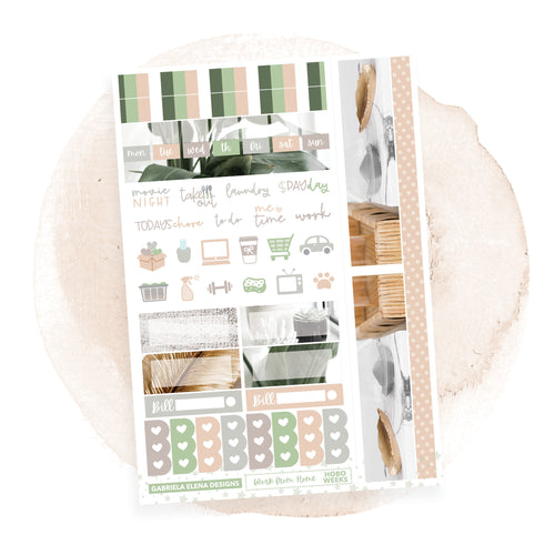 Work from Home / HOBONICHI WEEKS // Sticker Kit