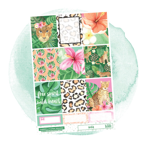 Wild // a la carte / Sticker Kit / Full Boxes / FOIL