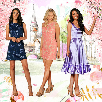 What to Wear for Spring Weddings