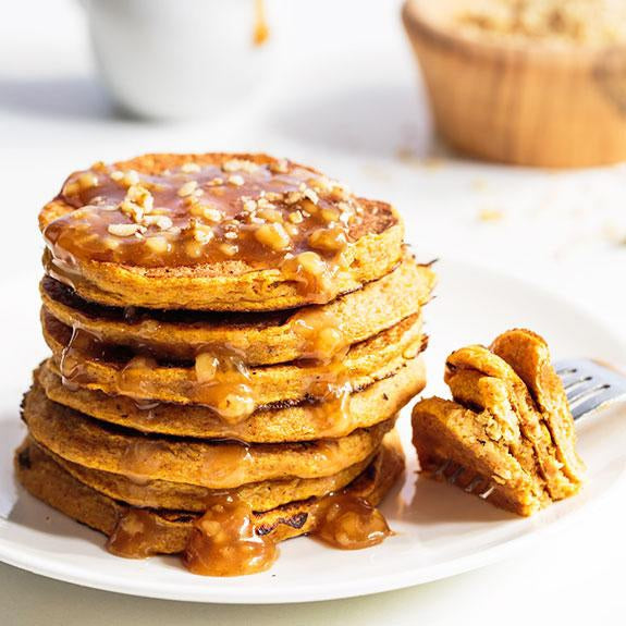 Fall Recipes - Pumpkin Pancakes (Breakfast)