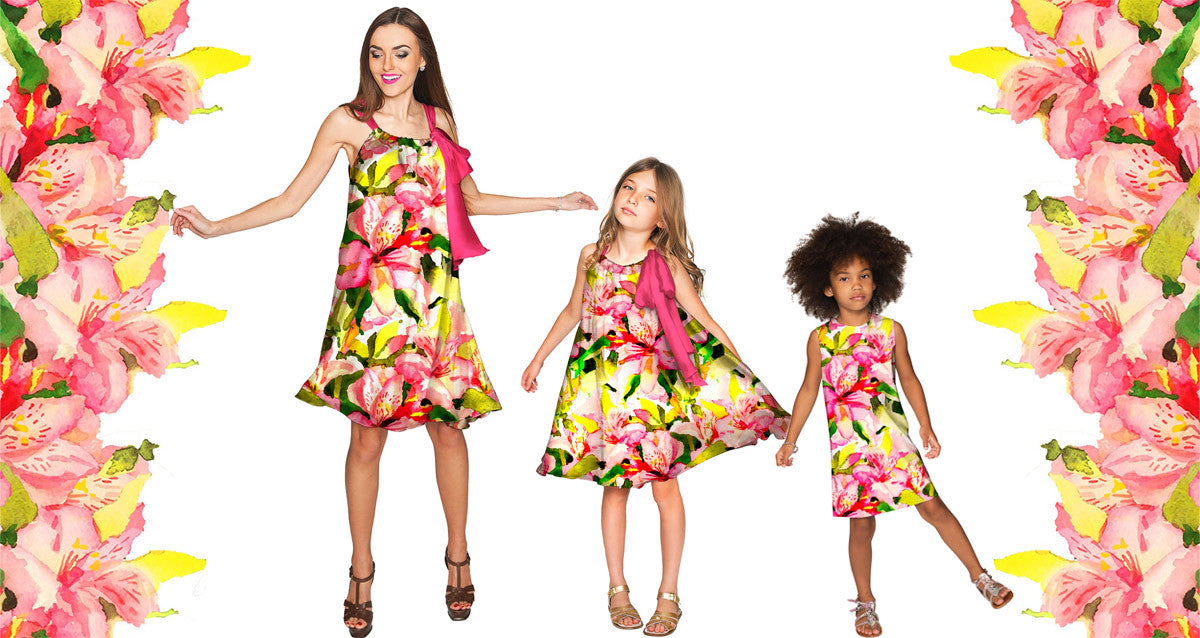 Pineapple Clothing Mommy and Me Fun Sundresses, Chic Resortwear