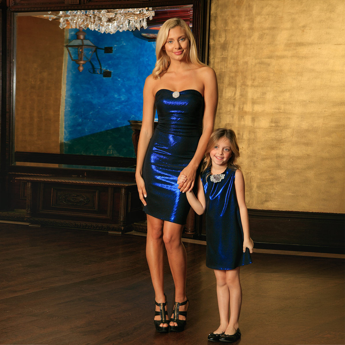 beautiful mommy and me party dresses