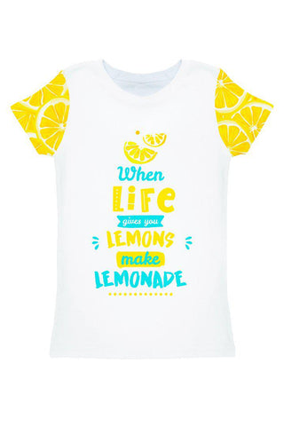 A Piece of Sun Zoe White Designer Quote Print T-Shirt - Women - Pineapple Clothing